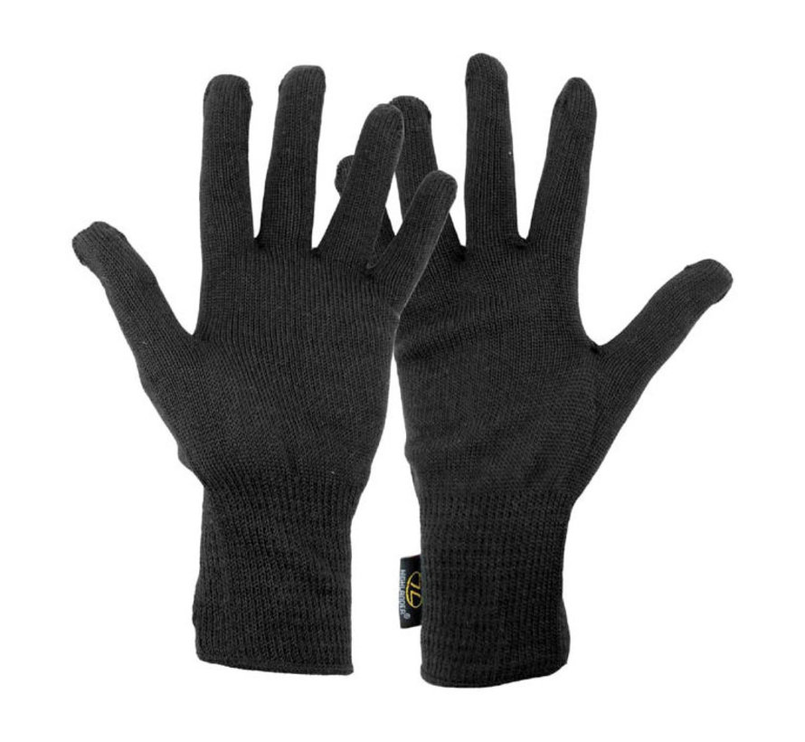 Highlander Thermal Liner Gloves (handschoenen - zwart)