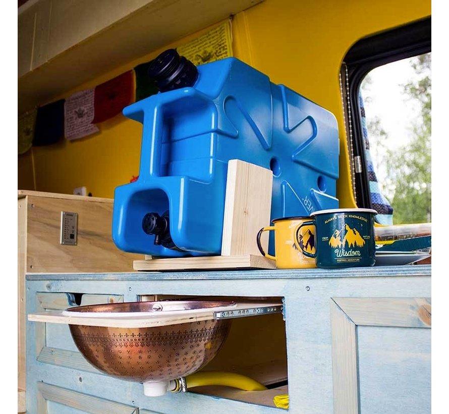 Lifesaver Jerrycan 10000UF Blauw (met ingebouwd waterfilter)
