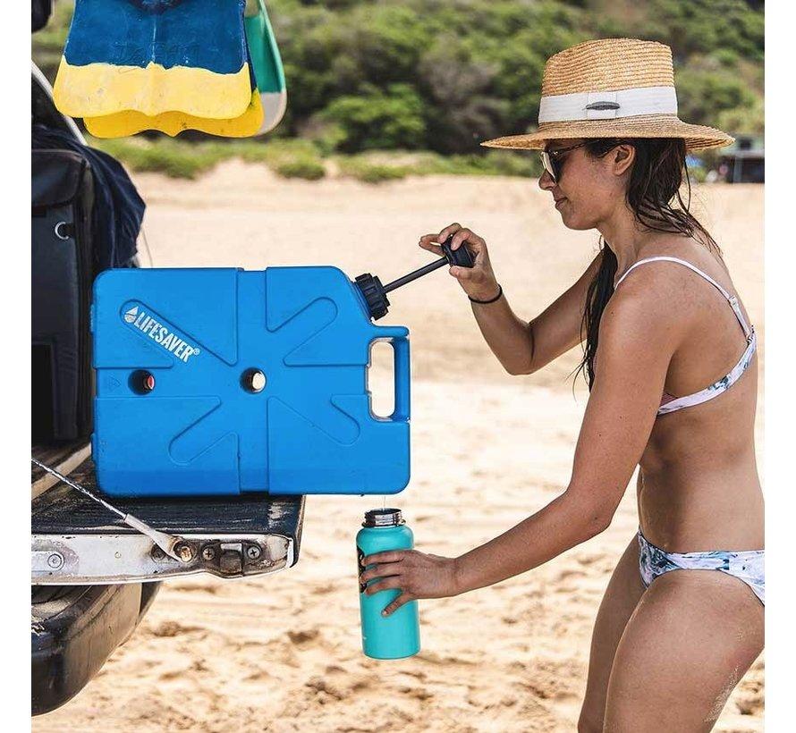 Lifesaver Jerrycan 20000UF Groen (met ingebouwd waterfilter)