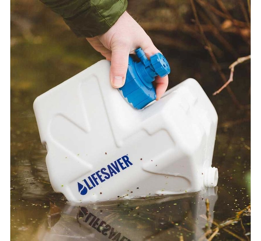Lifesaver Cube Jerrycan (met ingebouwd waterfilter)