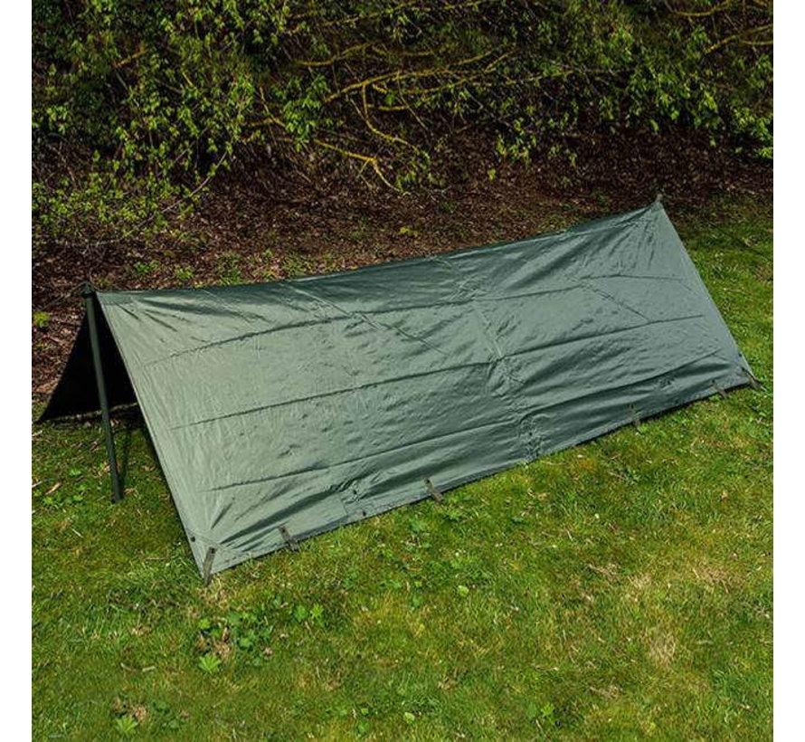 Pro-Force Basha (shelter-tarp-afdak - legergroen)