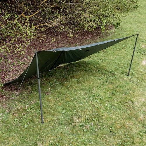 Highlander Outdoor Pro-Force Basha (shelter-tarp-afdak - legergroen)