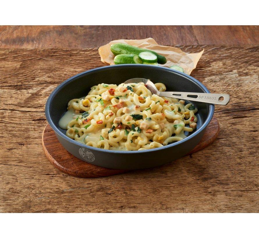 Trek'n Eat Romige Pasta met Kip en Spinazie