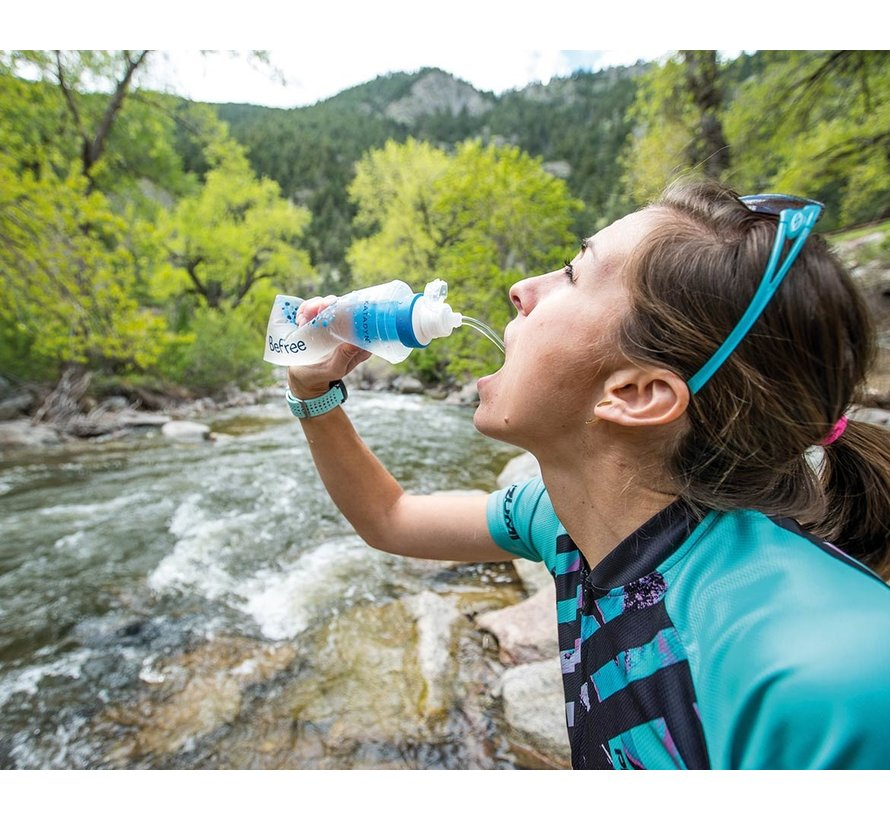 Katadyn BeFree 0.6L  waterfilter (flexibele drinkfles)