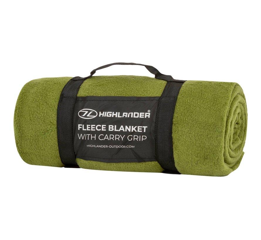 Highlander Fleece-deken (Olive Green)