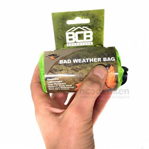 BCB Bushcraft BCB Bad Weather Bivy Bag (1-persoons nood-bivakzak - groen)