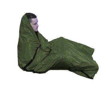 BCB Bushcraft Bivy Bag (1-persoons nood-bivakzak - groen)