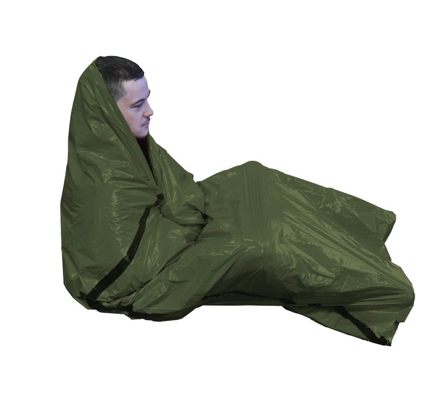 BCB Bad Weather Bivy Bag (1-persoons nood-bivakzak - groen)
