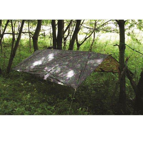 Highlander Outdoor Pro-Force Basha (shelter - tarp - afdak - camouflagepatroon HMTC)