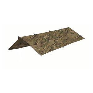 Highlander Outdoor Basha - Tarp - Shelter (afdak - camouflagepatroon HMTC)
