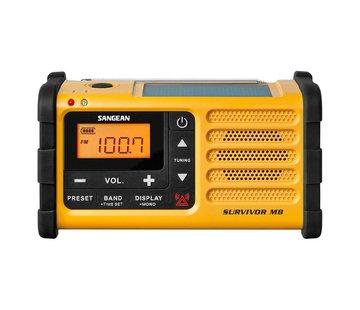 Sangean Sangean Survivor M8 AM/FM noodradio (met ingebouwde zaklamp)