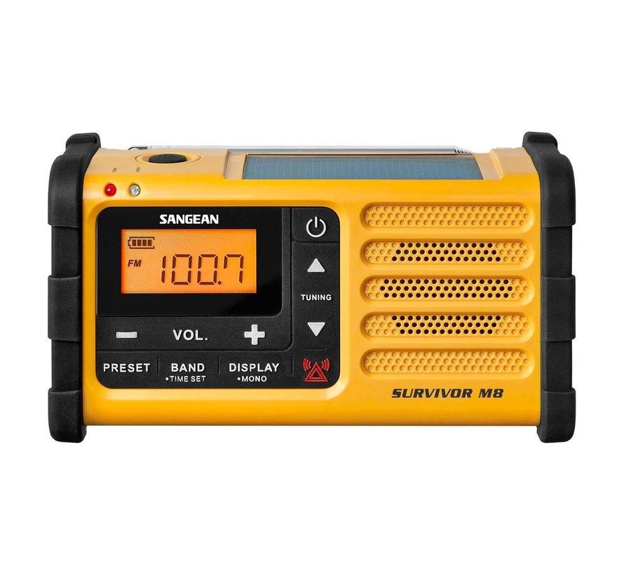 Sangean Survivor M8 AM/FM noodradio (met ingebouwde zaklamp)