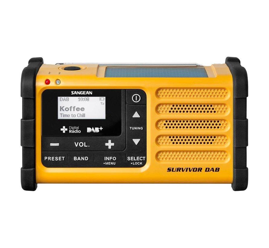 Sangean Survivor DAB+ noodradio (met ingebouwde zaklamp)