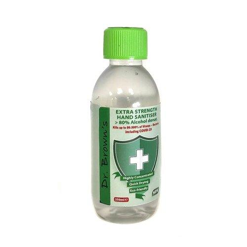 BCB Bushcraft Dr. Browns Hand Sanitiser 250ml (reinigende handgel)