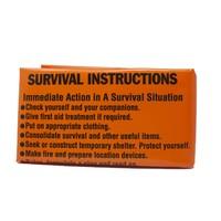 BCB Emergency Printed Survival Bivi Bag (fel-oranje overlevingszak)
