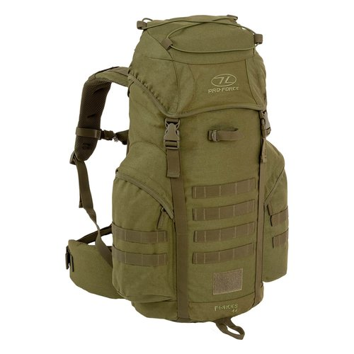 Highlander Outdoor Highlander Forces 44 rugzak (olive green)