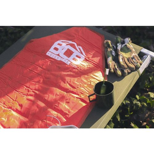 BCB Bushcraft BCB Inflatable Sleeping Mat met opberghoes (slaapmat zelfopblazend)