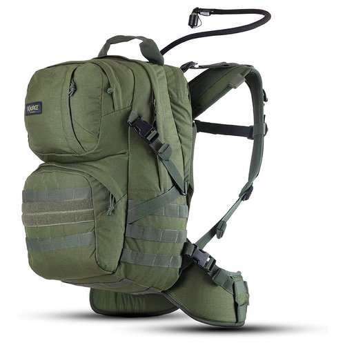 Source Outdoor & Tactical Gear Source Tactical Patrol 35 Liter Rugzak (Olive - inclusief drinksysteem)