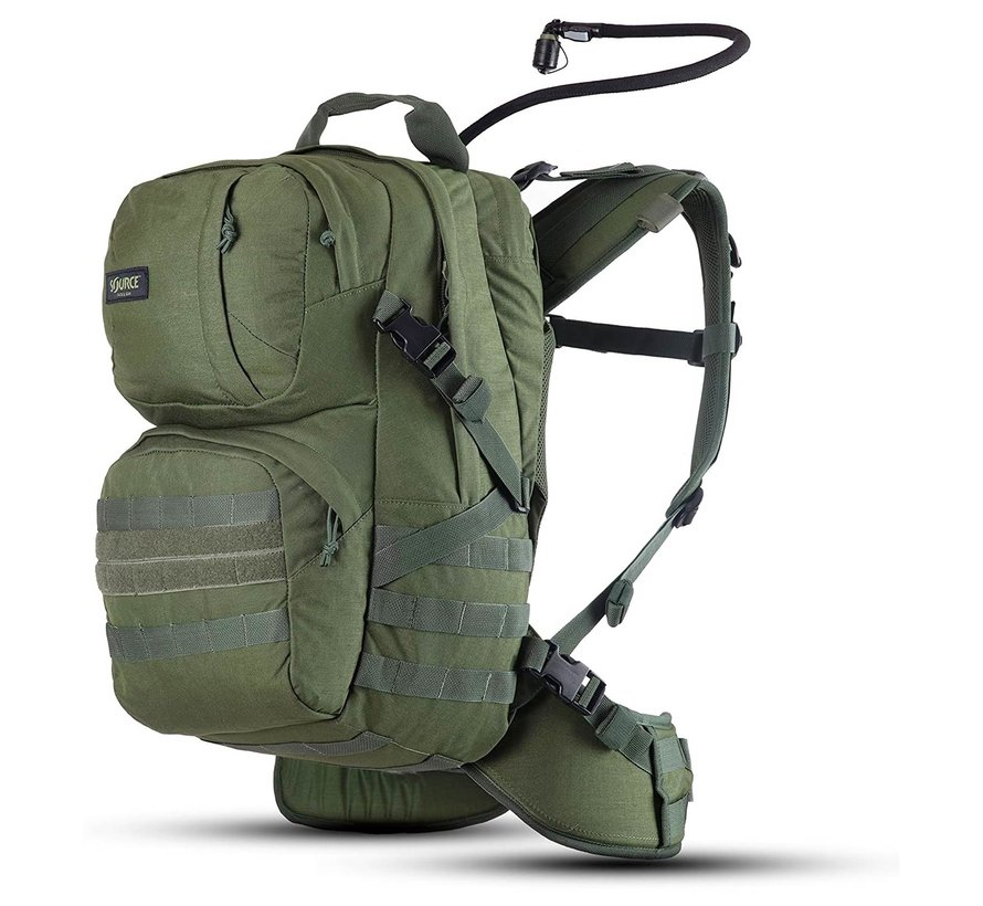 Source Tactical Patrol 35 Liter Rugzak (Olive - inclusief drinksysteem)
