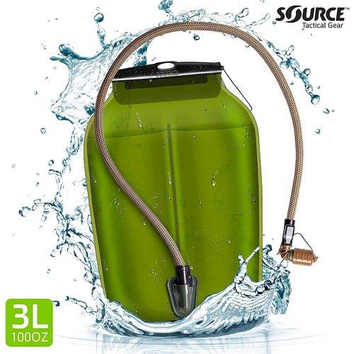 Source Outdoor & Tactical Gear Source Tactical Double D 45 Liter Rugzak (zwart - inclusief drinksysteem)
