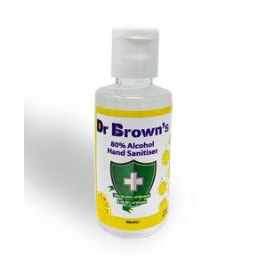 BCB Bushcraft Dr. Browns Hand Sanitiser 50ml (reinigende handgel - lemon)