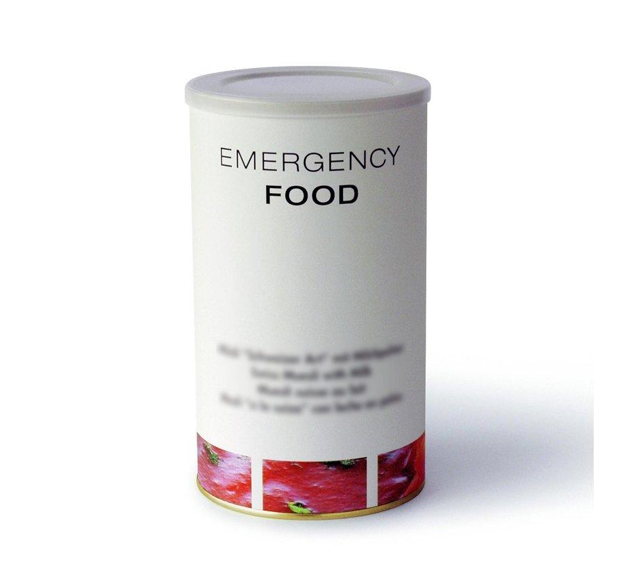 30-dagen Noodvoedselpakket (noodrantsoenen - met vlees - dus niet geschikt voor vegetariërs)