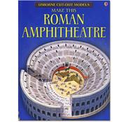 Usborne Bouwplaten Maak zelf een Romeins Amfitheater (bouwplaat)
