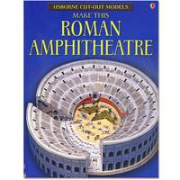 Maak zelf een Romeins Amfitheater (bouwplaat)