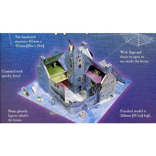 Usborne Bouwplaten Maak zelf een Spookhuis (bouwplaat)