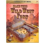 Usborne Bouwplaten Maak zelf een Wild-West-Fort (bouwplaat)