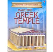 Usborne Bouwplaten Maak zelf een Griekse tempel (bouwplaat)