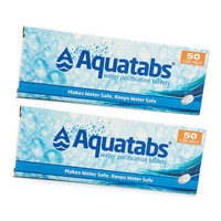 Aquatabs Waterzuiveringstabletten Twinpack (100 tabletten voor 100 liter)