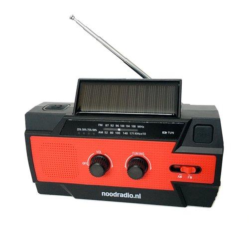 Noodradio.nl Noodradio Survivor S1 (zwengelradio met ledlamp en 4.000mAh powerbank)