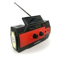 Noodradio Survivor S1 (zwengelradio met ledlamp en 4.000mAh powerbank)