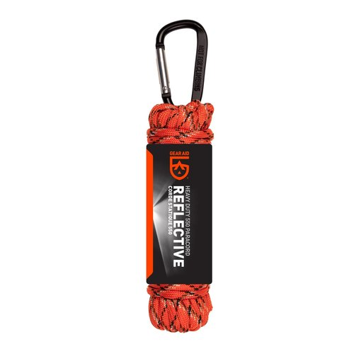 Gear Aid Gear Aid 550 Paracord (ø 4 mm x 9 meter - oranje-reflecterend)