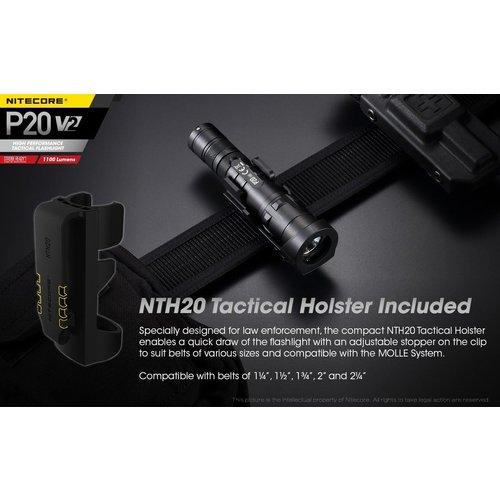 NiteCore NiteCore P20 V2 tactical zaklamp (1100 lumen)