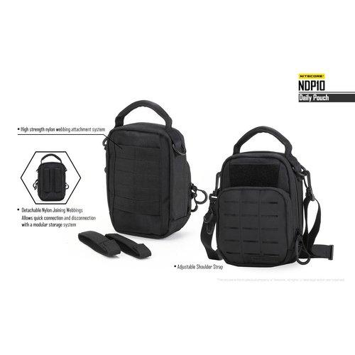 NiteCore Nitecore NDP10 Daily Pouch EDC-tas (zwart)