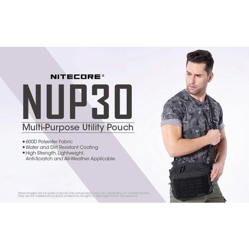 NiteCore Nitecore NUP30 Utility Pouch EDC-tas (zwart)