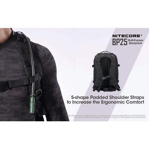 NiteCore Nitecore BP25 rugtas 25 liter (zwart)
