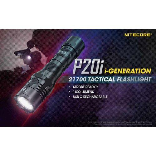 NiteCore Nitecore P20i Tactische Zaklamp oplaadbaar (1800 lumen)
