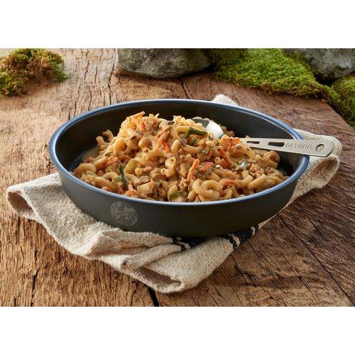 Katadyn Bospaddenstoelen-Ragout met Pasta (1,2 liter blik - gevriesdroogd)