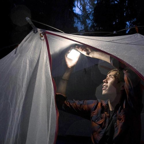 BioLite BioLite Sunlight Grey Lamp (met ingebouwd zonnepaneeltje)