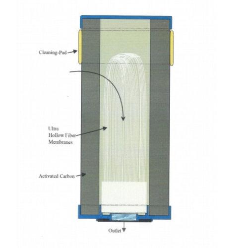 "AQUA Logic waterfilters AQUA Logic Standaard-C-Ultra 10"" High Capacity (filterelement)"