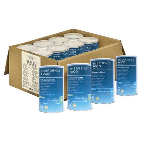 Katadyn 30-dagen Noodvoedselpakket incl. BeFree waterfilter (geschikt voor vegetariërs)
