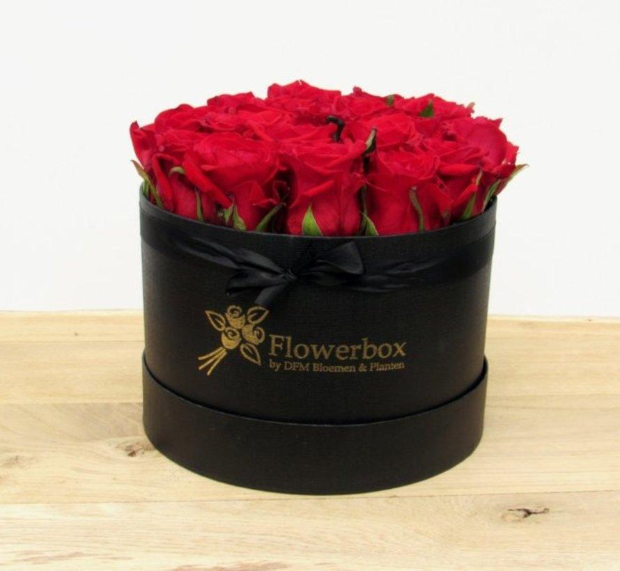 Flowerbox Rood M