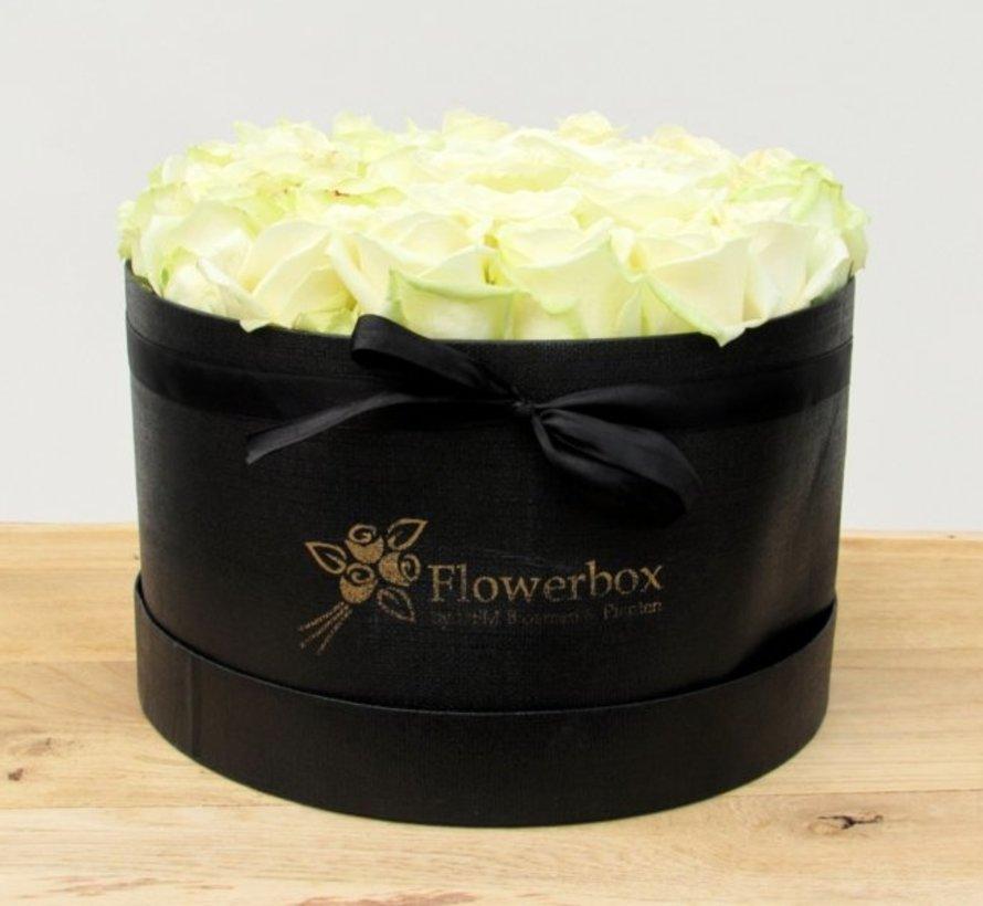 Flowerbox Wit L