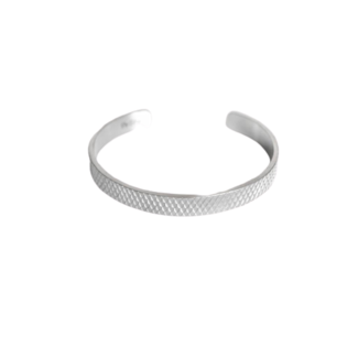 By Shir For Him armband edelstaal cuff