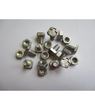 Vitavia Aluminium Bouten en moeren (10 stuks)