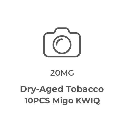 KWIQ - Dry-Aged Tobacco 10PCS
