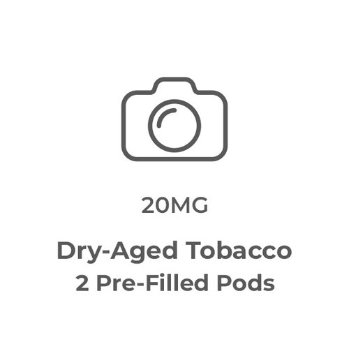 Dry-Aged Tobacco Pre-Filled Pods